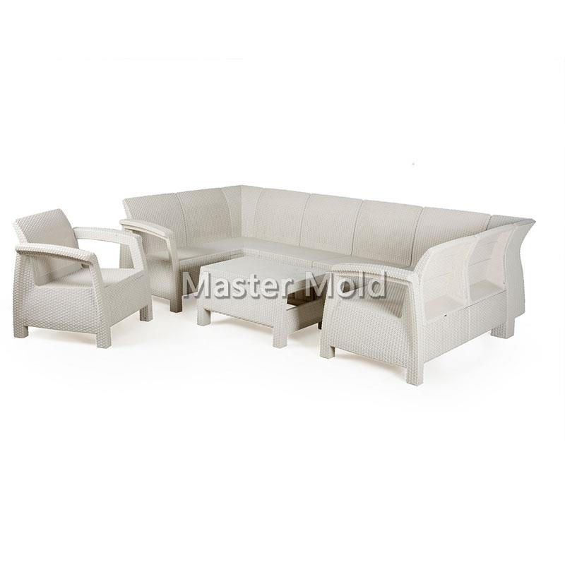 Rattan furniture mold 1